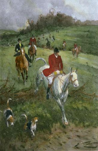 Run of the Season (Restrike Etching) by Wright
