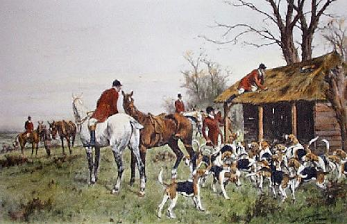 Where They Ran Into Him (Restrike Etching) by Wright