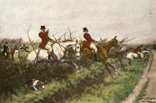 Through the Bullfinch (Restrike Etching) by Wright