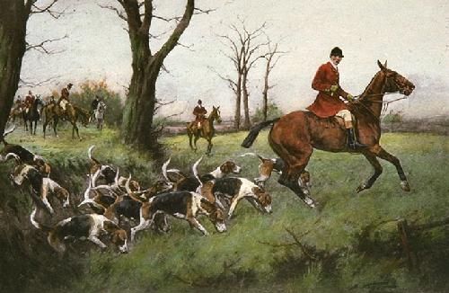Opening Days (Restrike Etching) by Wright