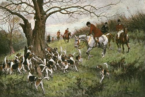 Up a Tree (Restrike Etching) by Wright