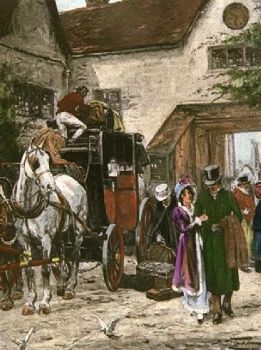Home at Last (Restrike Etching) by Wright