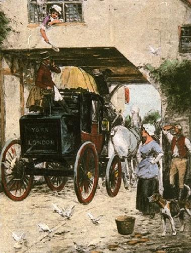 The London Mail (Restrike Etching) by Wright