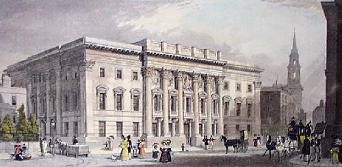 Goldsmiths Hall (Restrike Etching) by Shepherd