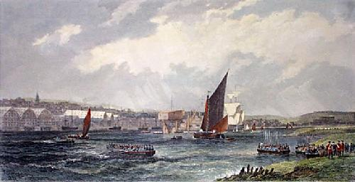 Chatham (Restrike Etching) by Edward Duncan