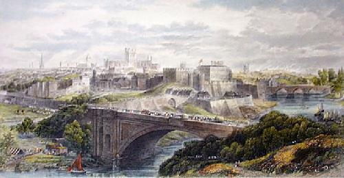 Chester (Restrike Etching) by Edward Duncan