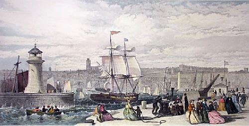 Ramsgate (Restrike Etching) by G.H. Andrews