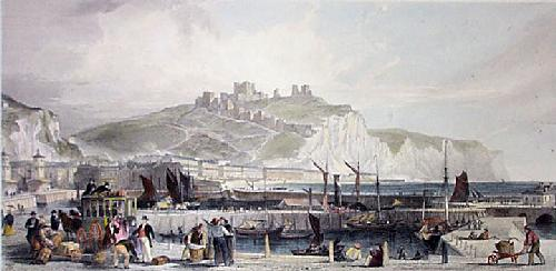 Dover (Restrike Etching) by Thomas Allom