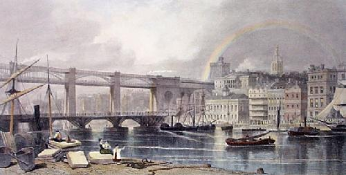 Newcastle (Restrike Etching) by G.H. Andrews