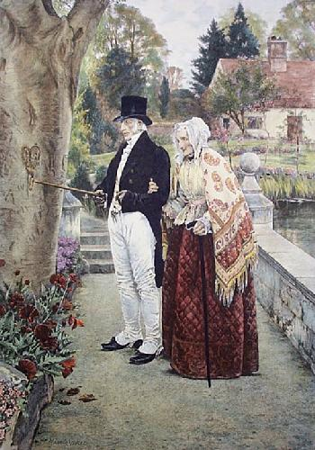 When The Heart Was Young (Restrike Etching) by Walter Dendy Sadler