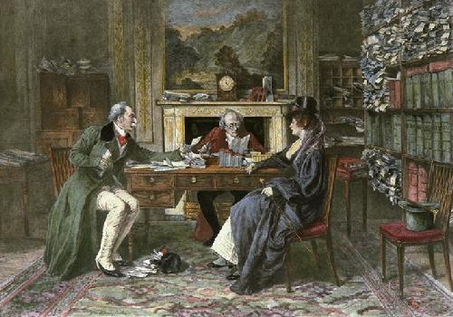 Breach Of Promise (Restrike Etching) by Walter Dendy Sadler