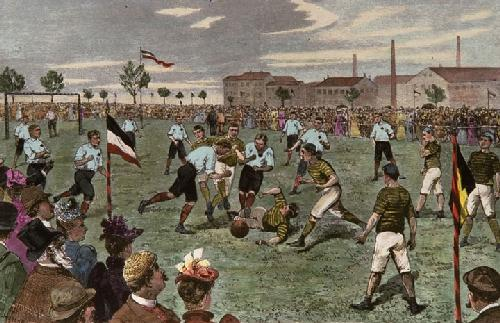 The Local Derby (Restrike Etching) by E.T. Limmer