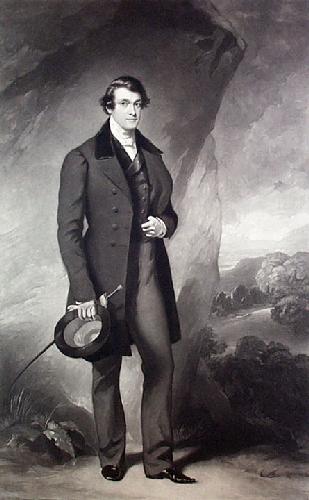 Sir John Yarde Buller (Restrike Etching) by Sir Francis Grant
