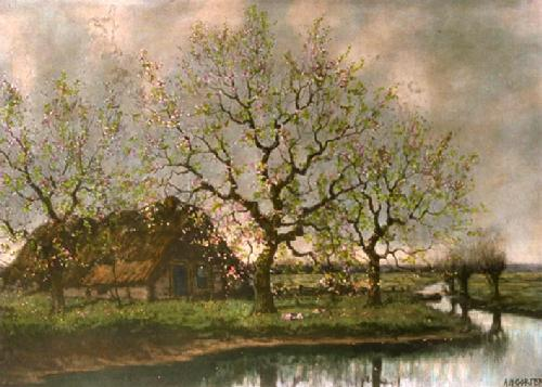 Spring (Restrike Etching) by Arnold Marc Gorter