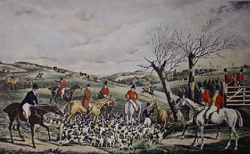 The Appointment (Restrike Etching) by Henry Alken