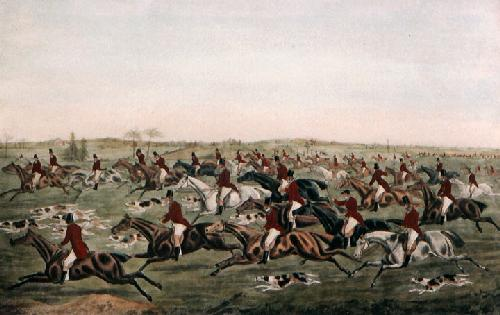 Tally Ho! (Restrike Etching) by Henry Alken