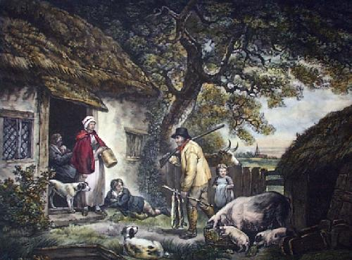 Warreners (Restrike Etching) by A.S. Handersford