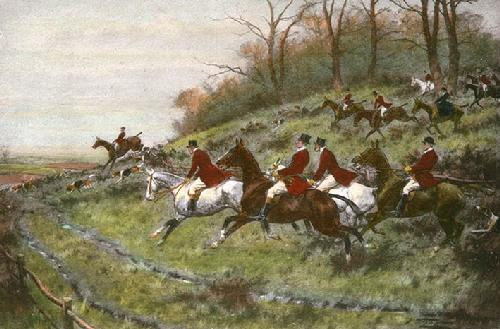 Gone Away (Restrike Etching) by Wright