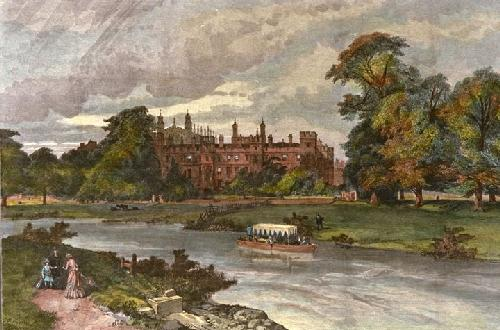 Eton College (Restrike Etching) by Anonymous