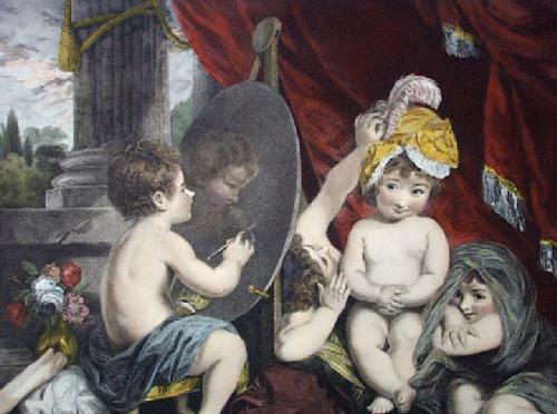 Infant Academy (Restrike Etching) by Sir Joshua Reynolds