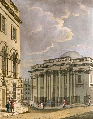 Dublin Views - (Road Pebbles) (Restrike Etching) by Thomas Malton