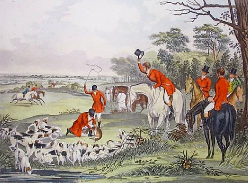 Bachelors Hall - Plate 5 (Restrike Etching) by Francis Calcraft Turner
