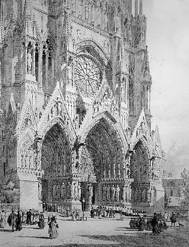 Cathedral, St Marks Square (Restrike Etching) by Axel Haig