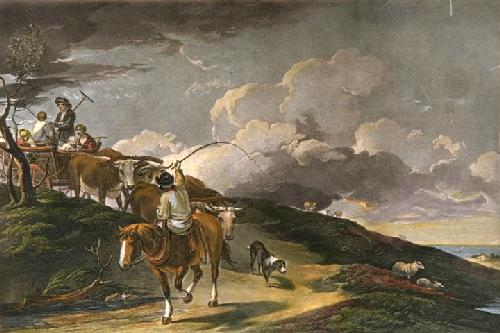 Going to the Hayfield (Restrike Etching) by Thomas Gainsborough