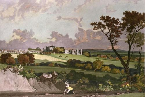 Battle Abbey (Restrike Etching) by Joseph Mallord William Turner