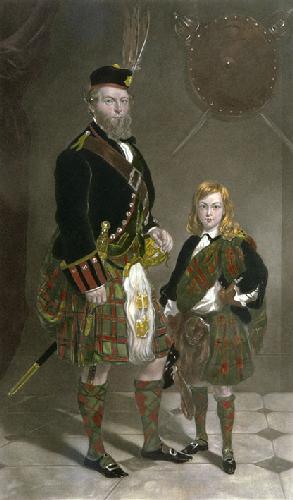 Earl of Seafield (Restrike Etching) by Sir Francis Grant