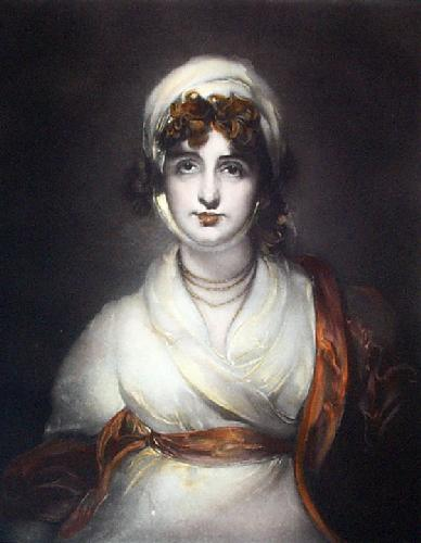 Mrs Siddons (Restrike Etching) by Sir Thomas Lawrence