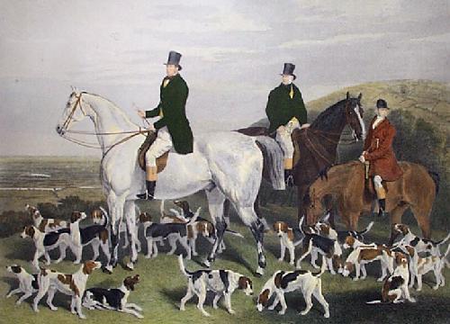 Colvyn & Dyson (Restrike Etching) by William Henry Davis