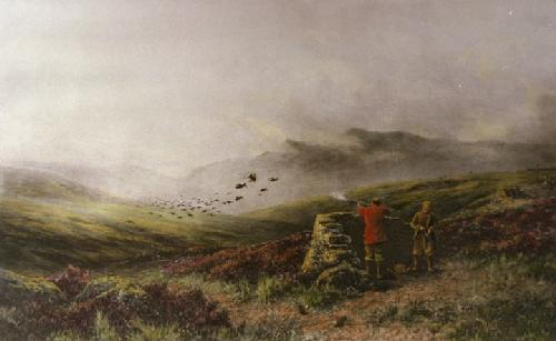 War (Restrike Etching) by Douglas Adams