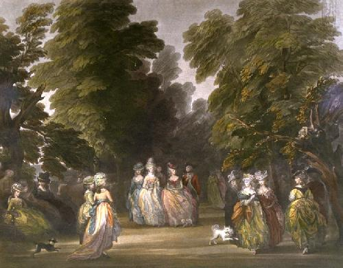 St.James's Park (Restrike Etching) by Thomas Gainsborough