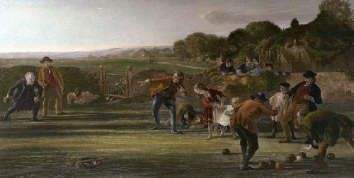 Bowler, The (Restrike Etching) by Sir George Harvey