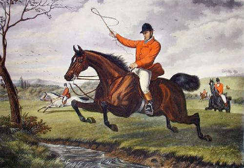 Flying it Cleverly (Restrike Etching) by Inglis Sheldon-Williams