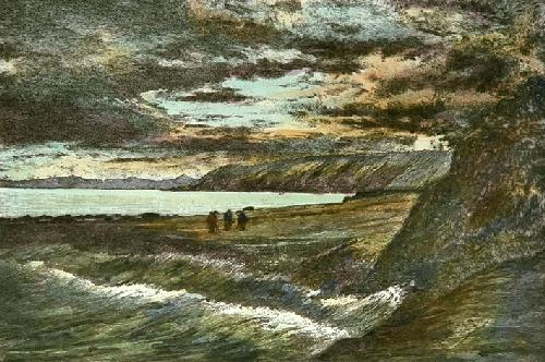 Sea Hole - Elie (Restrike Etching) by Anonymous