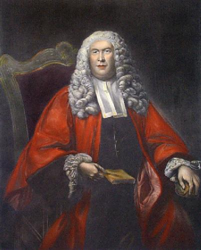 Sir William Blackstone (Restrike Etching) by Sir Joshua Reynolds