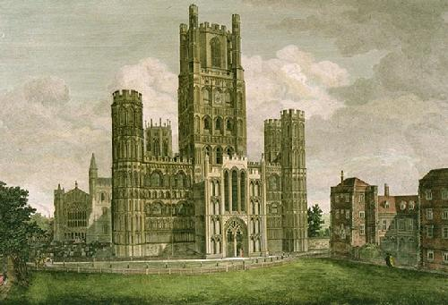 Ely Cathedral (Restrike Etching) by William Burgess