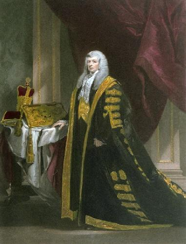 Lord Cottenham (Restrike Etching) by Charles Robert Leslie