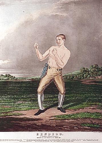 Bendigo (Restrike Etching) by Charles Hunt