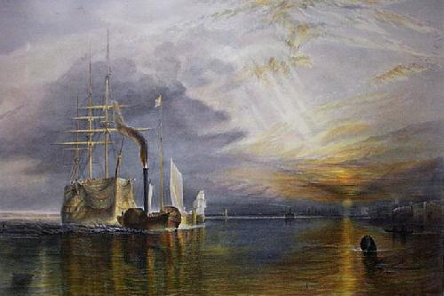Fighting Temeraire (Restrike Etching) by Joseph Mallord William Turner