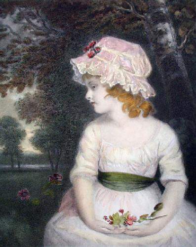 Simplicity (Restrike Etching) by Sir Joshua Reynolds