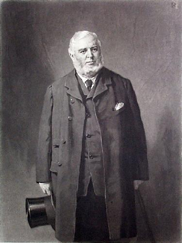 Thomas Dawson Brodie (Restrike Etching) by George Reid