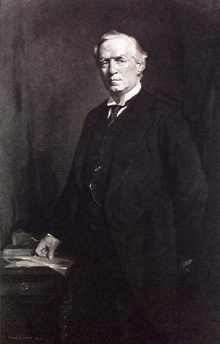 R.H.H Asquith (Restrike Etching) by Fiddes Watt