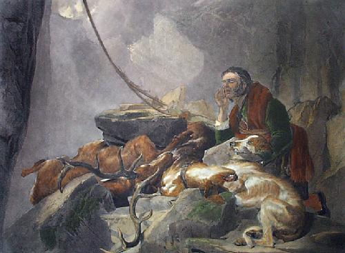 There's Life in the Old Dog Yet (Restrike Etching) by Sir Edwin Henry Landseer