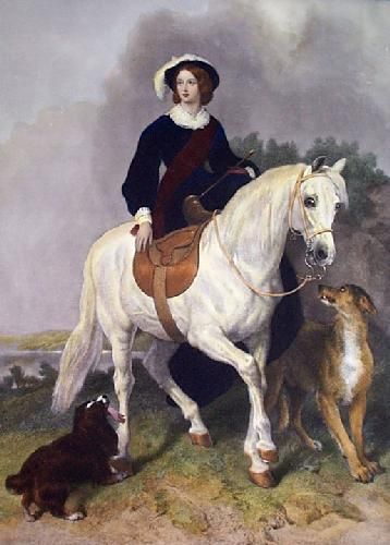 Majesty (Restrike Etching) by Sir Edwin Henry Landseer