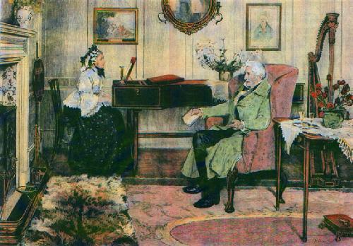 The Old Hundreth (Restrike Etching) by Walter Dendy Sadler