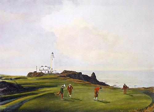 Turnberry (Restrike Etching) by Terence Gilbert