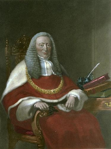 Sir A.E.Cockburn (Restrike Etching) by Anonymous